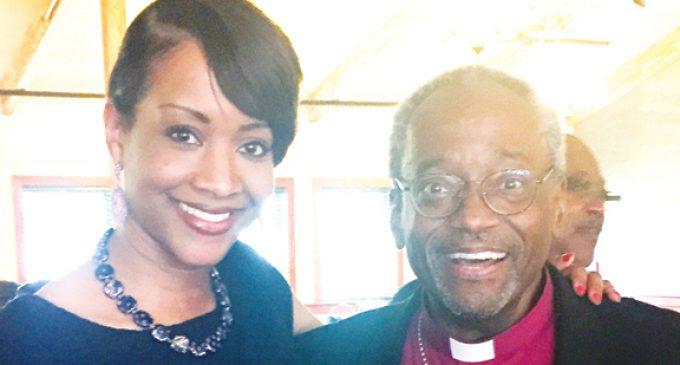 Episcopal locals beam over first black top bishop