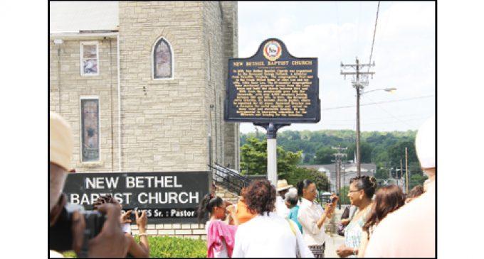 New Bethel gets historic marker