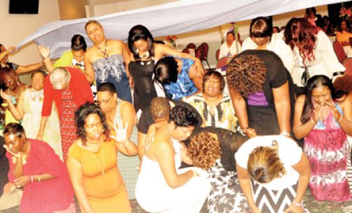 Women attend spirit-lifting evening