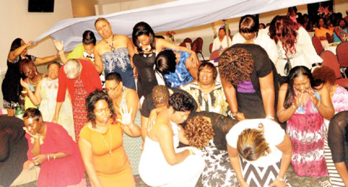 Women attend spirit-lifting evening