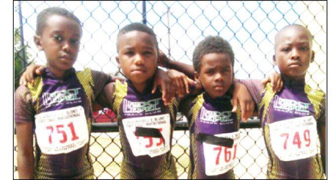 Runners compete in Junior Olympics