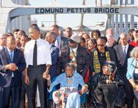 Obama marks Selma March milestone