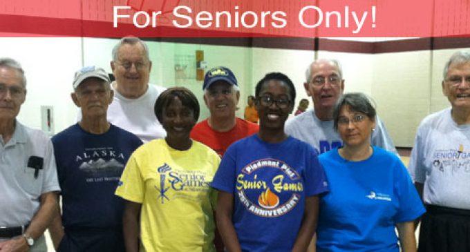 For Seniors Only!: The Fall Senior Games sponsored by Winston-Salem Recreation Department