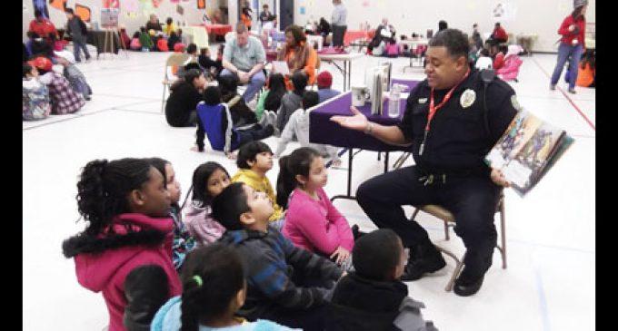 Sit-in movement focus of school's Read-in