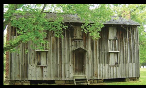 Slave houses opening for tours