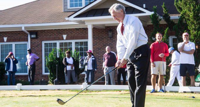 ESR Golf Tournament makes par