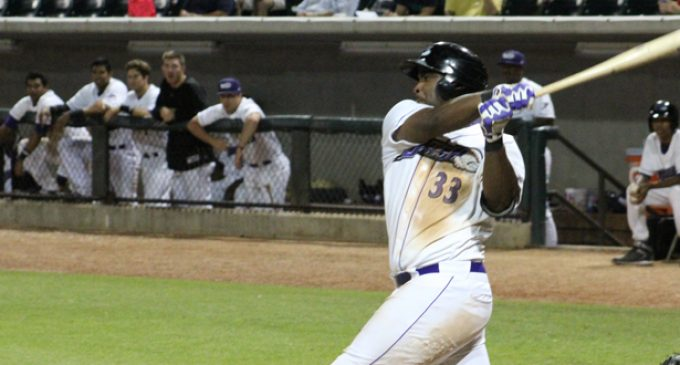 Dash slugger's sole goal: 'play and compete at the highest level'