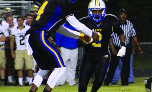 Carver High wins first conference game of season