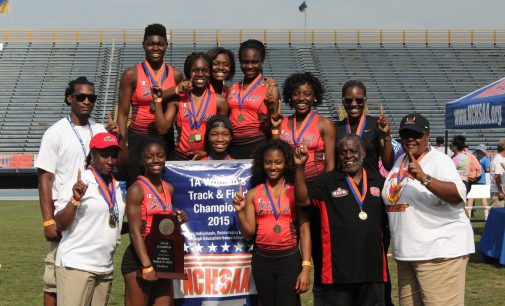 Winston-Salem Prep's girls rise to state outdoor track and field champions