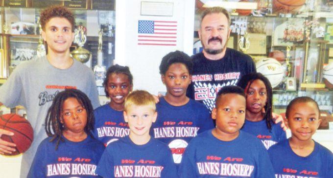 HANES HOSIERY 6-10 SUMMER  LEAGUE BASKETBALL