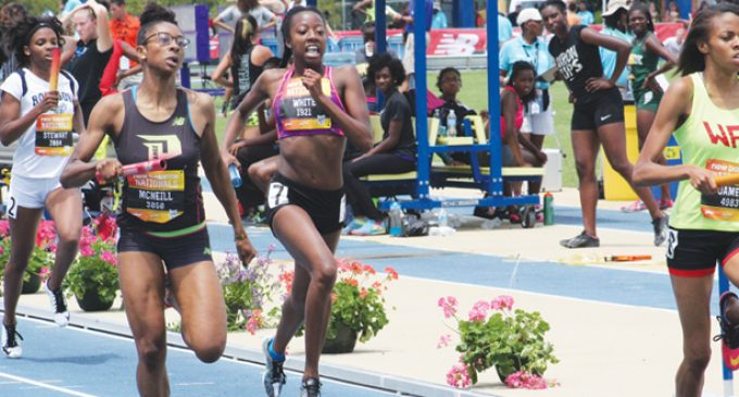 Mustangs' relay earns bronze medal at track nationals