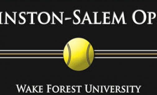 City receives donation to improve local tennis clubs during  Winston-Salem Open event