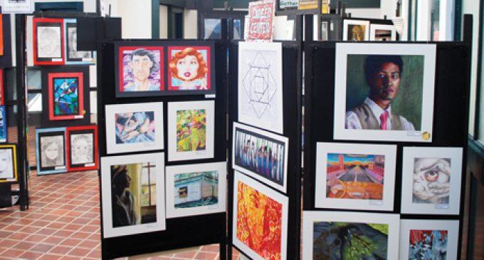 Student art show opens tomorrow