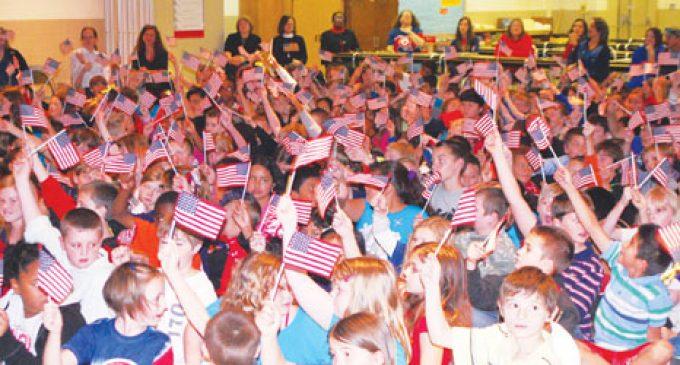 Students Salute Veterans