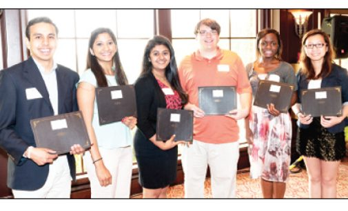 Student scholars saluted  at Breakfast of Champions