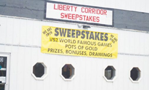 Luck may have run out for sweepstakes