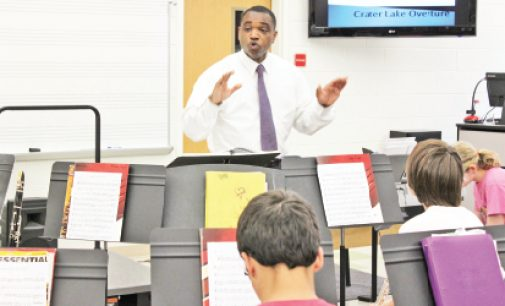 Much loved music teacher strives to inspire students