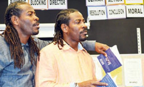 'Twin Poets' use rhyme to change lives