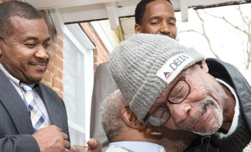 'Blessed': First veteran moves into Homes 4 Our Heroes