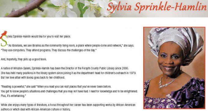 Sylvia Sprinkle-Hamlin appears in 2016 Heritage Calendar