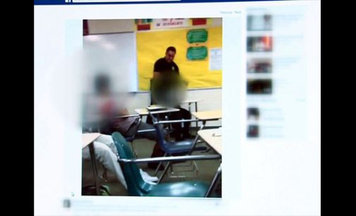 Video shows Columbia, S.C., area school officer tossing student in classroom