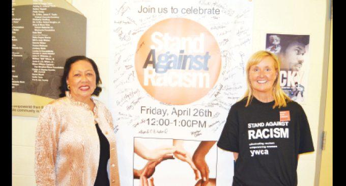 Local residents sign YWCA's anti-bias pledge