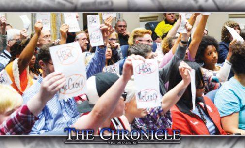 Calls to repeal HB 2 heard across community