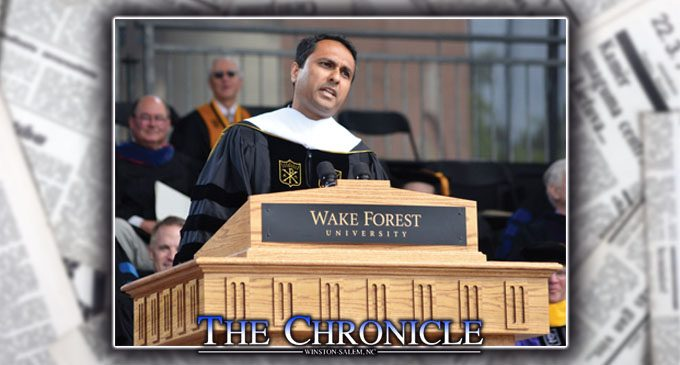 Improvise in life, speaker tells WF grads