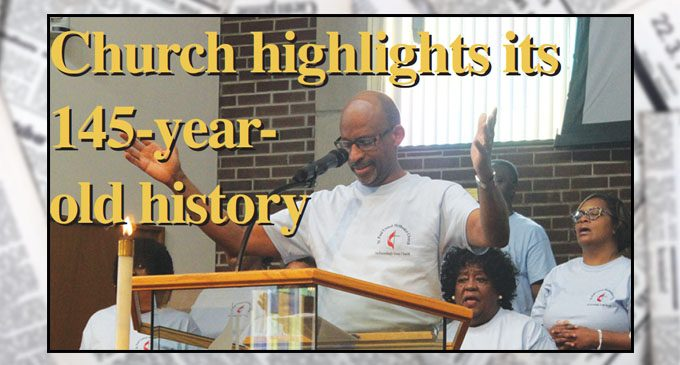 Church highlights its 145-year-old history