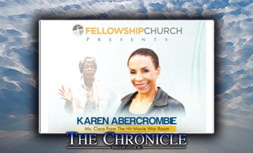 Fellowship Church to host hit 'War Room' movie actress