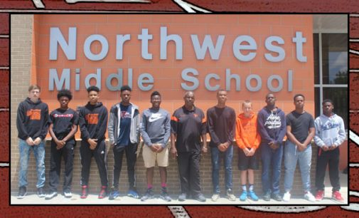 Northwest Middle School wins track title