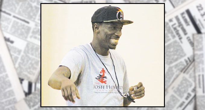 Youth go to Josh Howard to learn basketball