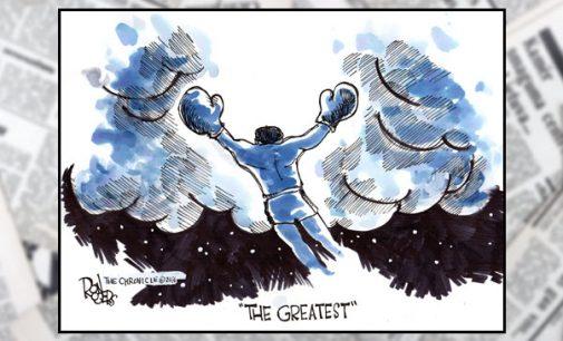 Column: My memories of Muhammad Ali