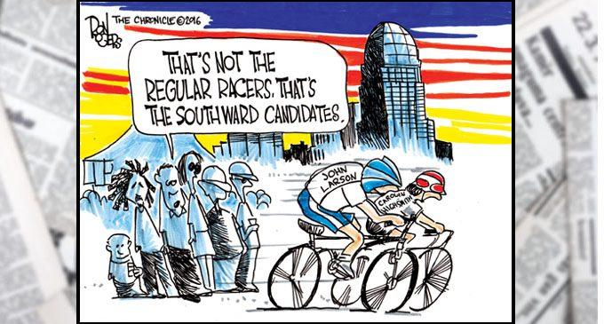 Editorial Cartoon: The Race