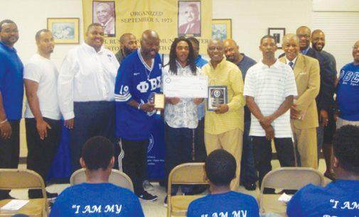 Walkertown High senior receives scholarship from Phi Beta Sigma Fraternity