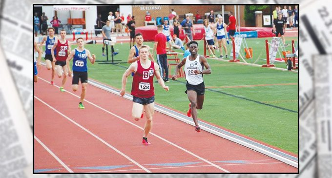 Guilford College track team members hail from Forsyth County