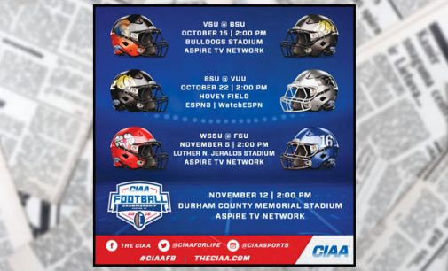Four 2016 CIAA football games will be televised