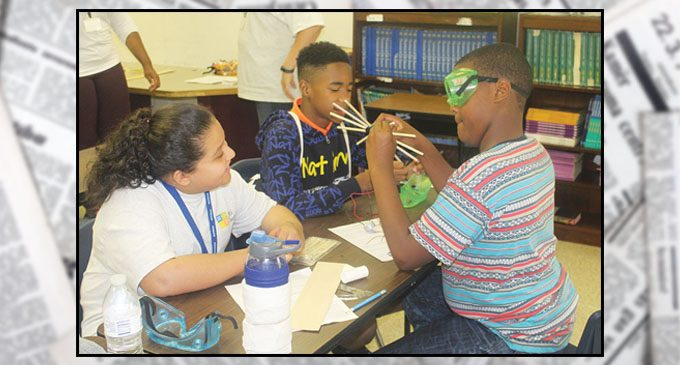 SciTech program prepares campers for the future