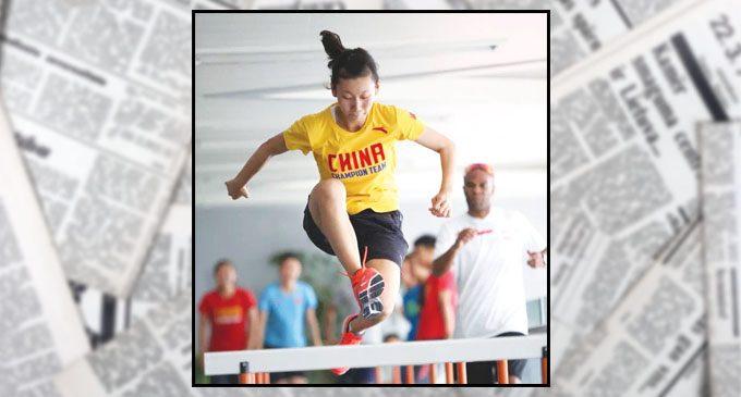 Reynolds High grad trains Olympians
