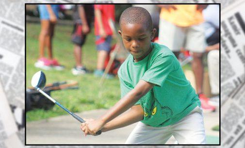 Golf clinic teaches youth fundamentals