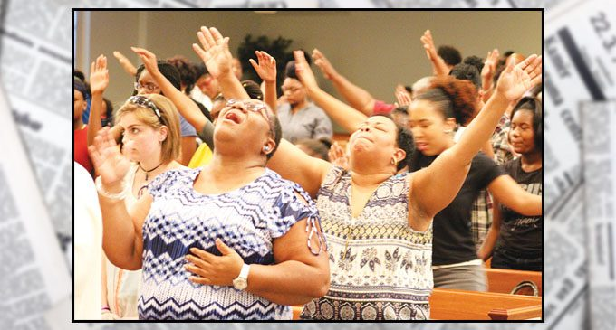 Local church inspires youth during conference