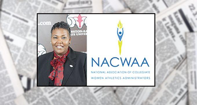 WSSU athletic director gains  administrators group honor