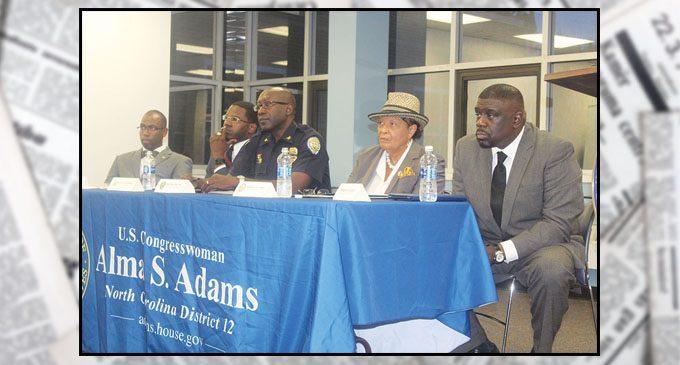 Adams holds forum on gun violence