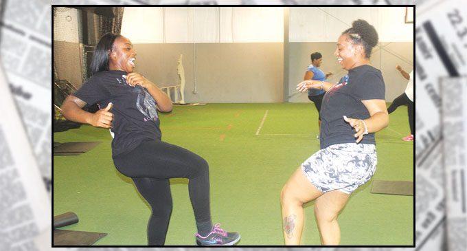 Dancing to hip hop to get healthy