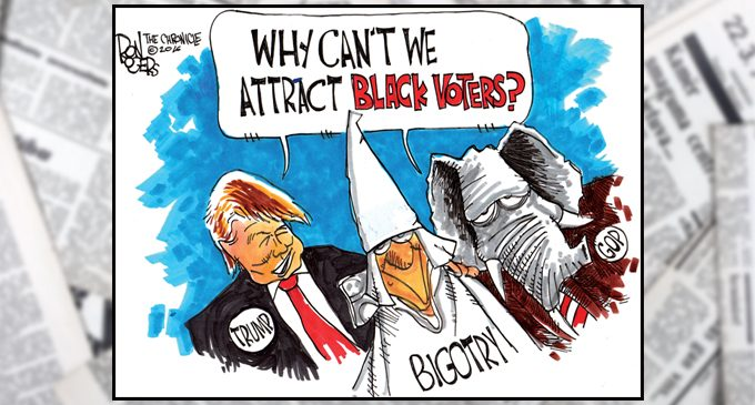 Editorial: GOP won't see influx of black people in 2016 with Trump