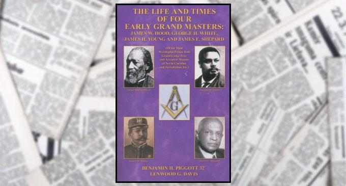 Piggott and Davis publish book on early Grand Masters of Prince Hall Masons