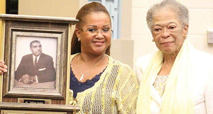 Carver dedicates auditorium to its first principal