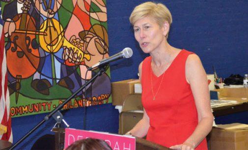 Deborah Ross campaigns for U.S. Senate in W-S