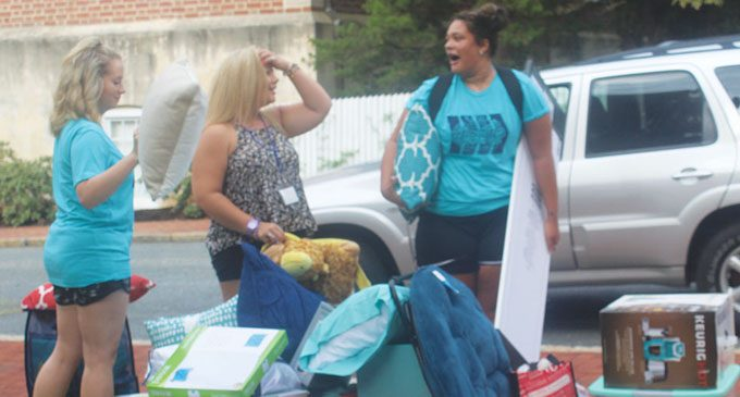 Salem College welcomes historic number of freshmen