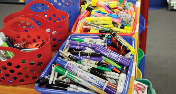 Educator Warehouse continues to give supplies to teachers